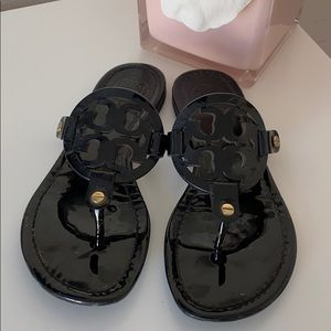 Tory Burch Miller Black Patent 5